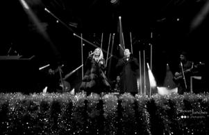Хилда Казасян и Васил Петров с бенда на Ангел Заберски